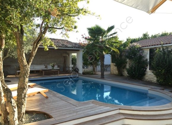 Location villa avec piscine sur l 39 ile de r melody for Location villa piscine ile de france