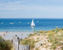 the ile de re sandy beaches