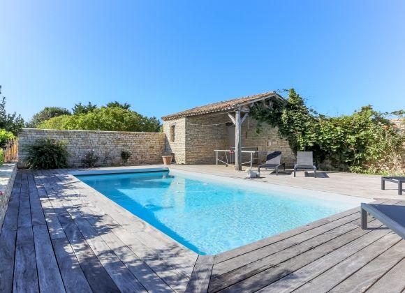 Villa A Louer Ile De Re Avec Piscine